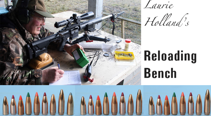 Laurie Holland's Reloading Bench Featured Image