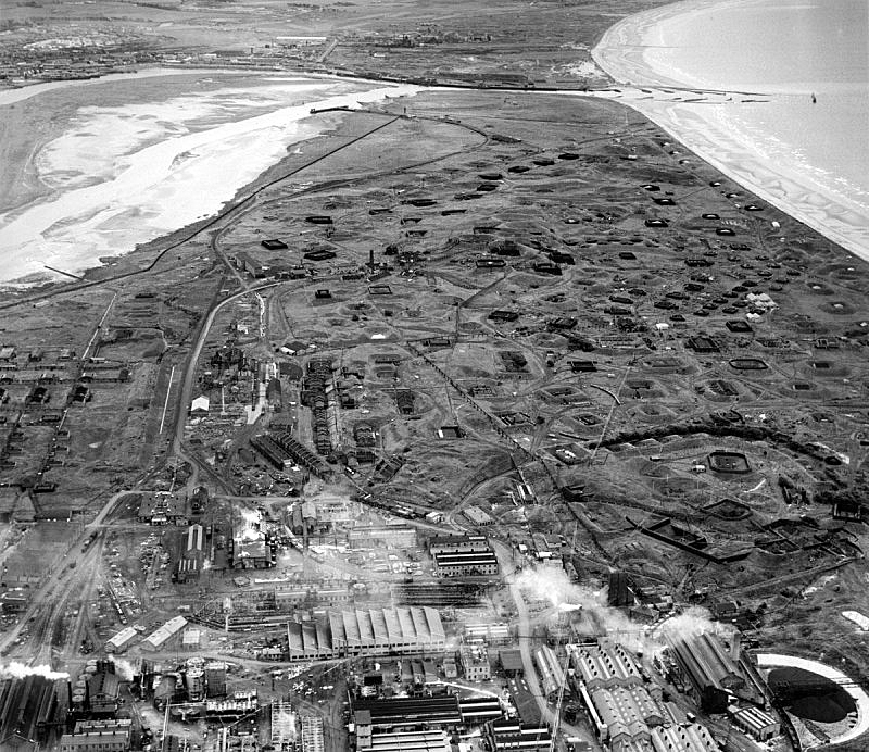 The Ardeer Peninsula in SW Scotland and privately owned ICI Nobel factory sometime post WW2