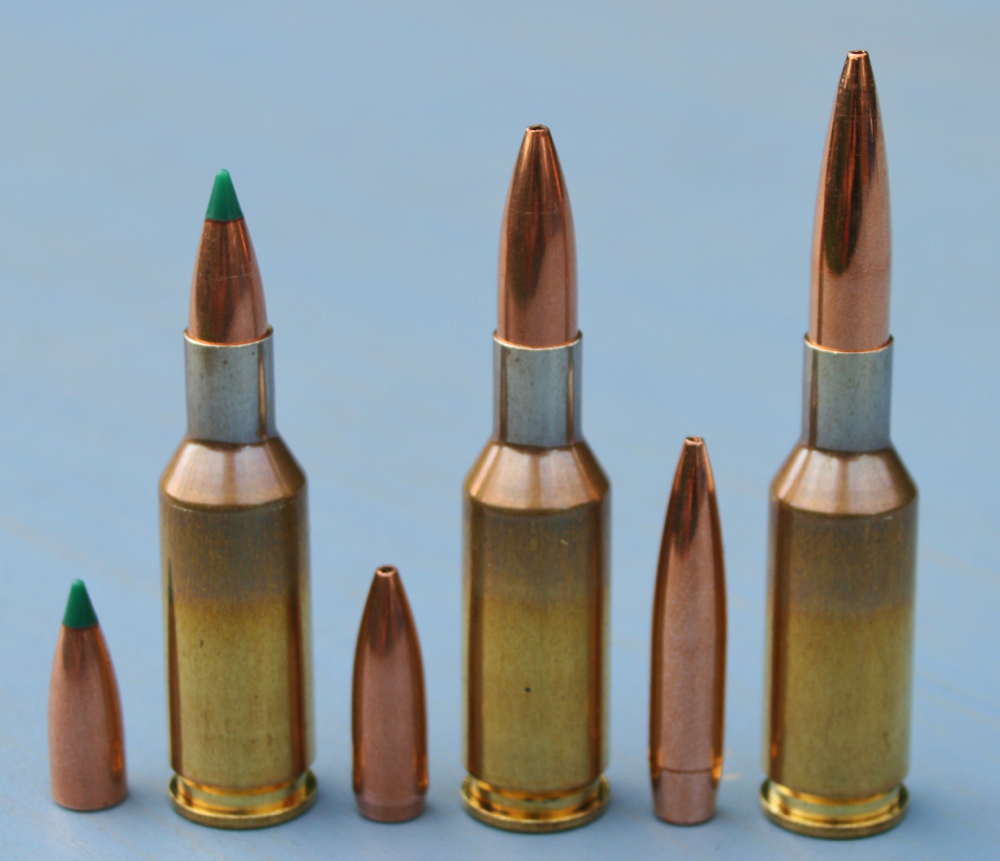 VarGet is supremely well matched to the 6mmBR and its 'improved' variants with 87gn and heavier bullets.