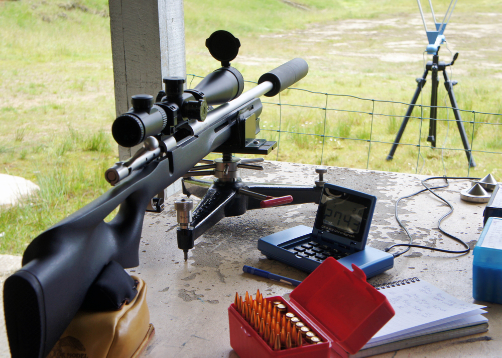 The .308 Howa 1500 'affordable clubman's F/TR rifle' did very well with some IMR, Ramshot and Lovex powders