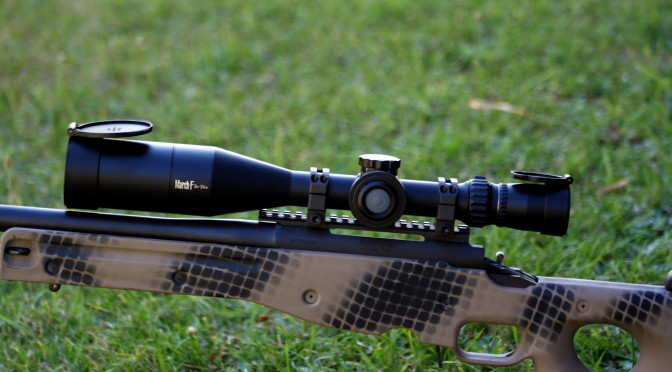 The March 3 – 24 x 52 FFP has just been released and adds to tactical/target/hunting options available in the March range