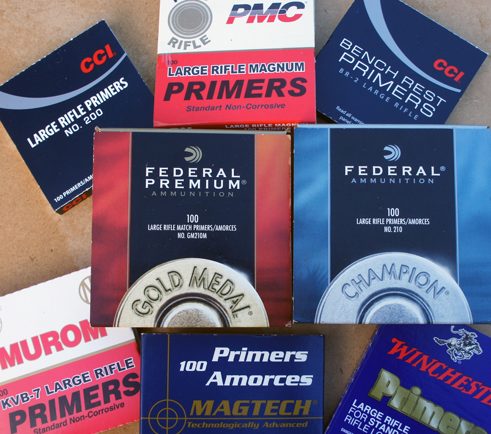 Some of the 16 primers tested.