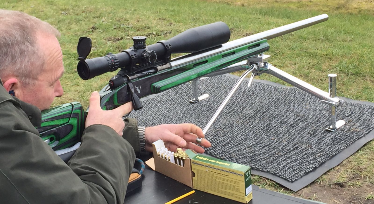 First impressions at Bisley with factory ammo were impressive