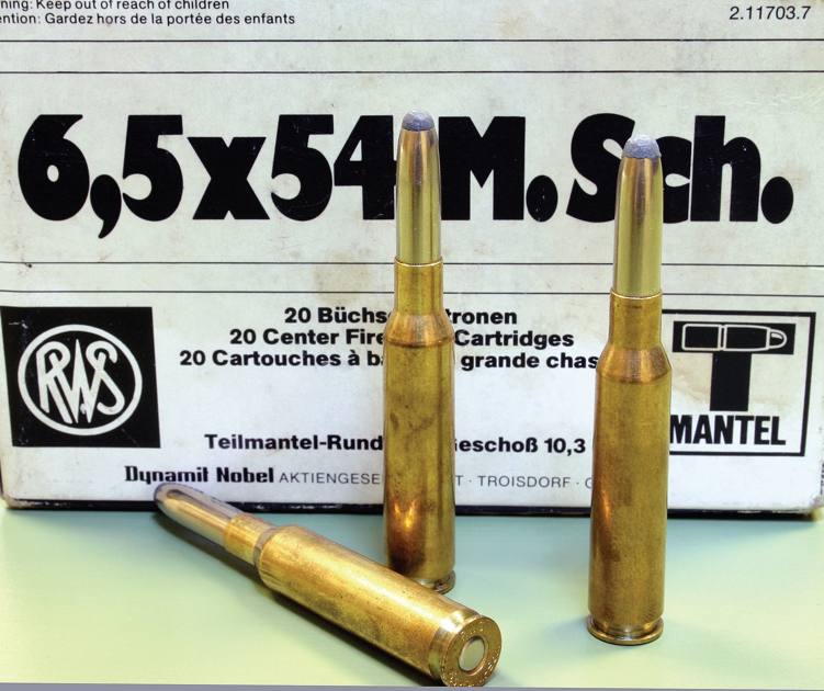 The 6.5 Manlicher - a famous sporting cartridge. The 1960s Deer Acts killed its use in the UK