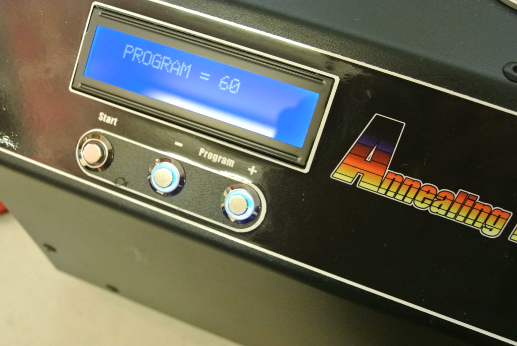 First, select your programme from a list of 180 cartridges