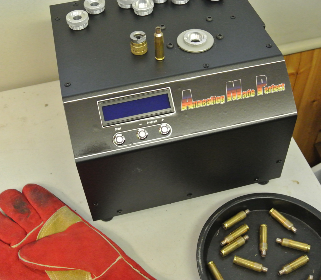 All you need to start annealing your brass